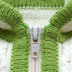 Как правильно и красиво вшить молнию в вязаное изделие (Уроки и МК по ВЯЗАНИЮ)