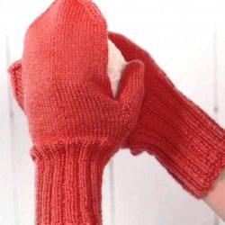 Вязание варежек спицами для начинающих (Уроки и МК по ВЯЗАНИЮ)