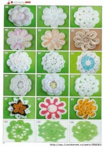Цветы крючком (Уроки и МК по ВЯЗАНИЮ)
