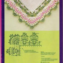 Красивая обвязка крючком вязаного изделия. Схемы (УЗОРЫ КРЮЧКОМ)