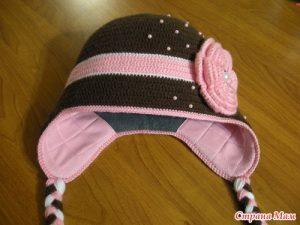 Как вшить подкладку в вязаную шапку (Шитье и крой)