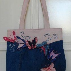 Джинсовые сумки. Несколько идей для вдохновения
