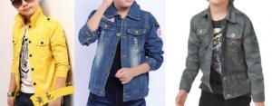 Выкройка детской джинсовой куртки на возраст от 1 года до 14 лет (Шитье и крой)