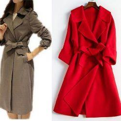 Выкройка женского пальто. Размеры евро от 36 до 56 (Шитье и крой)