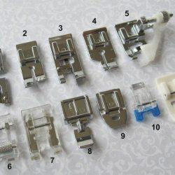 Прижимные лапки для швейной машины (Шитье и крой)