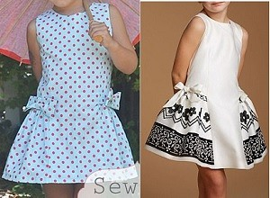 Выкройка летнего детского платья на возраст от 1 года до 16 лет (Шитье и крой)