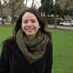 «Стокгольмский» шарф-снуд (Вязание спицами)