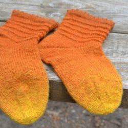 Как продлить жизнь пятке носка (Уроки и МК по ВЯЗАНИЮ)