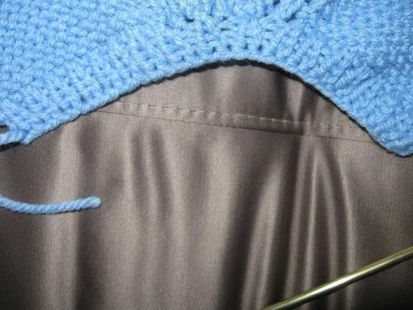Техника вязания - два способа провязывания линии 82