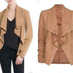 Как сшить куртку из кожи и трикотажа (Шитье и крой)