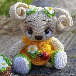 Забавные малютки амигуруми (Вязание крючком)