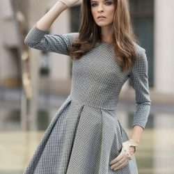 Выкройка женского платья. Размеры 36-46 евро (Шитье и крой)
