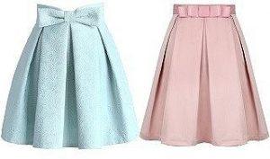 Выкройка эффектной женской юбки. Размеры 36-50 евро (Шитье и крой)
