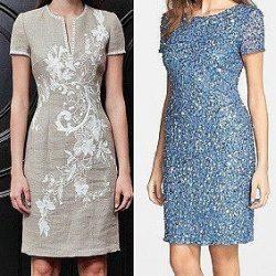 Выкройка женского приталенного платья (размеры от 36 до 48) (Шитье и крой)