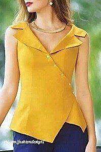 Выкройка летней блузки (Шитье и крой)