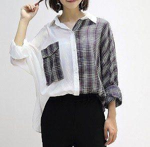 Выкройка женской рубашки, размеры 36-50 (Шиье и крой)