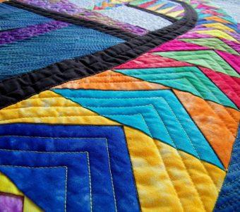 Потрясающие лоскутные одеяла (Шитье и крой)