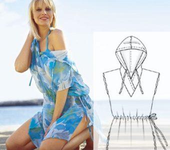 Пляжная одежда — актуально и стильнo (ШИТЬЕ И КРОЙ)