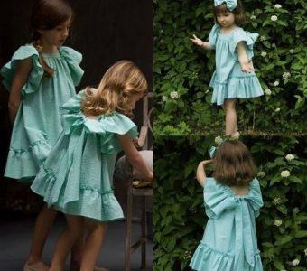 Выкройка летнего платья для девочки на возраст от 1 до 14 лет (Шитье и крой)