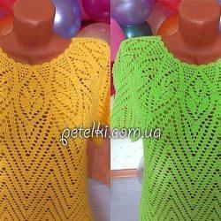Пуловеры и свитера связанные спицами