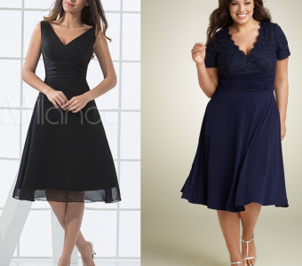 Выкройка платья. Схемы размеров 36-56 (Шитье и крой)