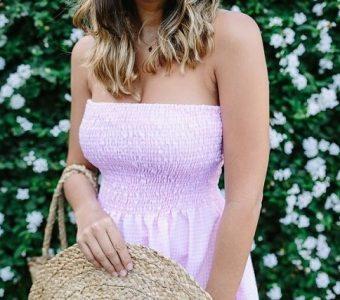 Шьём летнее платье без выкройки: простой мастер-класс (Шитье и крой)
