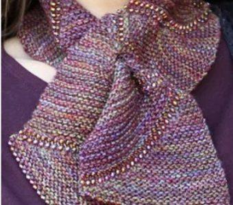 Необычный шарфик