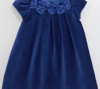 Платье из бархата для девочки от 1 до 14 лет (Шитье и крой)