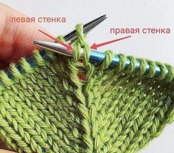 Супер способ! Прибавка петель без дырочек спицами (Уроки и МК по ВЯЗАНИЮ)