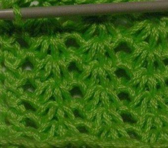 Техника тунисского вязания вовсе не сложная! (Уроки и МК по ВЯЗАНИЮ)