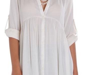 Белые блузы, рубашки и…  которые всегда кстати и всем без исключения подходят! (Шитье и крой)