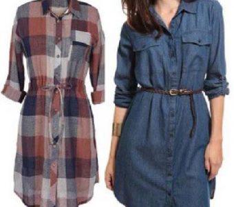 Модное платье-рубашка своими руками (Шитье и крой)