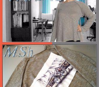 Декорирование одежды в технике «синель». Мастер-класс (Шитье и крой)