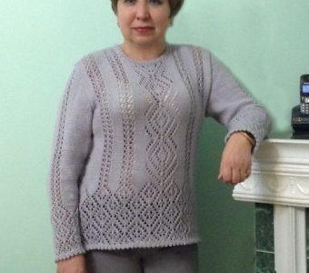 Очаровательный пуловер (ИДЕИ ДЛЯ ВДОХНОВЕНИЯ)