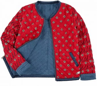 Выкройка детской куртки-ветровки на возраст от 1 года до 14 (Шитье и крой)